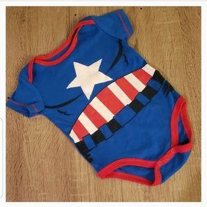 **5 for $15** New Captain America Marvel Onesie